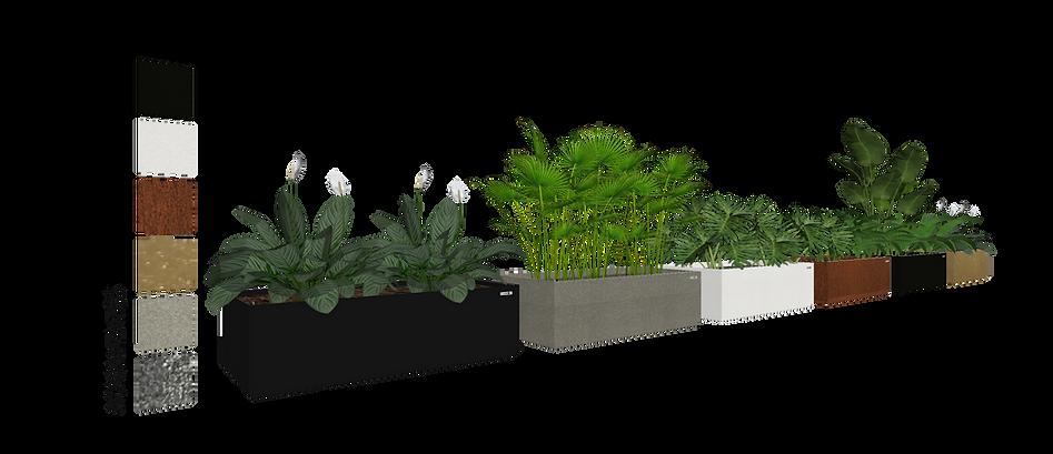 Floreira AutoIrrigável 3D Vertical Garden