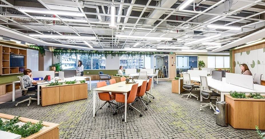 Design Biofílico ambiente corporativo
