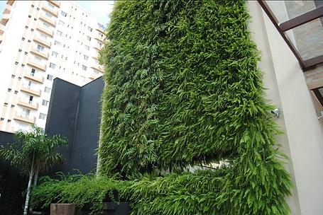 Jardim Vertical Fachada - Grupo VG