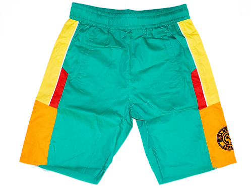 Sportswear Shorts Turquoise/Yellow SW