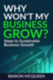 Barion McQueen's book entitled Why Won't My Business Grow?