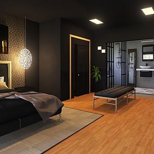 Lux Master Bedroom/Bathroom Design