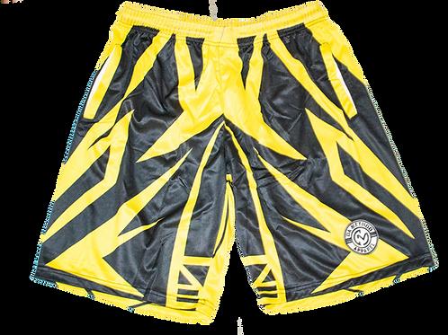 Basketball Shorts Black/Yellow BS