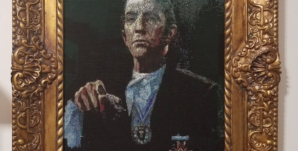 Barnabas Collins Portrait Beaded Tapestry 2017