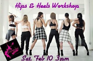 St Pete Studio: Hips & Heels Dance Workshop Sat Feb 10th 3-4:30pm