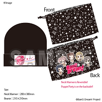 BanG Dream_ 3rd LIVE Beanie and pouch se