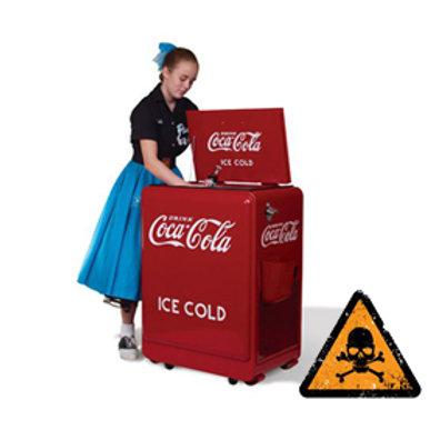 コカ・コーラ社製 クラシック冷蔵庫 USA輸入品