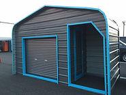 株式会社 山義 ガレージライフ ガレージランド YMG ミニストレージ American steel garage mini storage デザイン物置 Design storage design yard