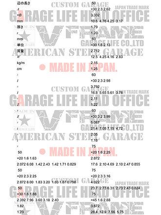 アメリカンガレージ特許申請Vフレーム
