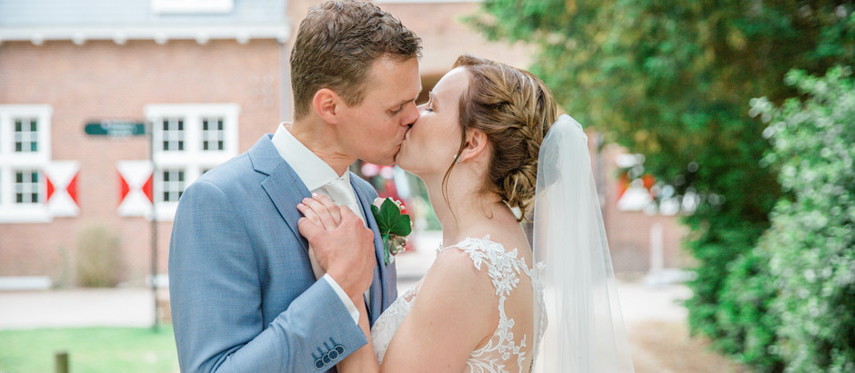 Bruiloft van Frans & Martine