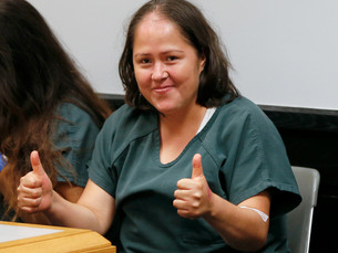 Georgia Mother Accused of Killing Children, Husband Flashes Thumbs-Up in Court POSTED 10:27 AM, JULY