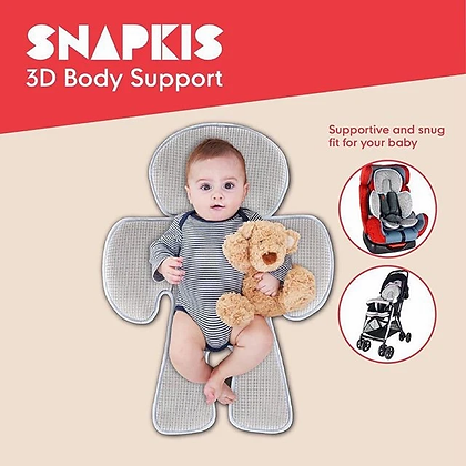 SNAPKIS 3D Body Support (Cool Grey)