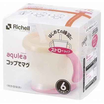 Richell AQ Straw Training Mug (150ml)