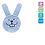 Thumbnail: MAM Oral Care Rabbit Teething Glove