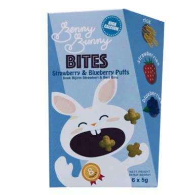 Benny Bunny Bites Puff - High Calcium 8m+