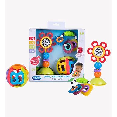 Playgro Shake, Twist And Rattle Gift Pack