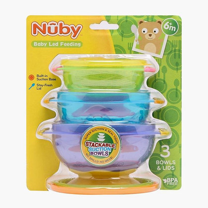 Nuby Stackable Suction Bowl