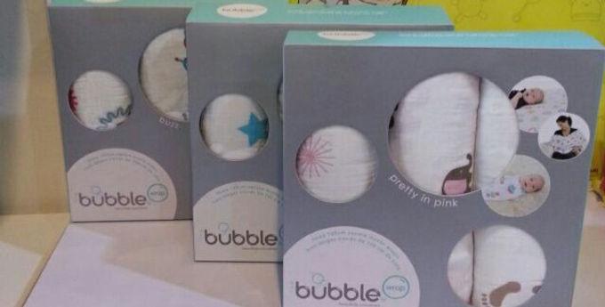 Bubble Muslin Wrap 3 in 1 set