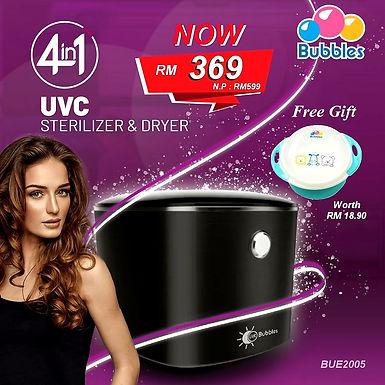 Bubbles 4in1 UVC Sterilizer & Dryer