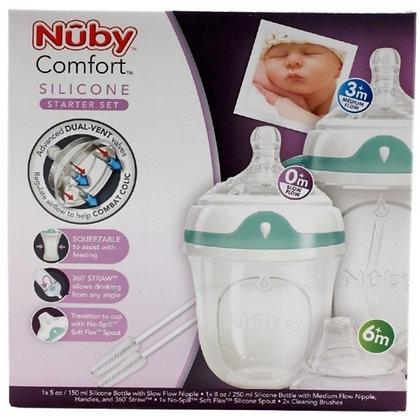 Nuby Comfort Silicone Starter Kit