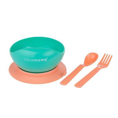 Clevamama Feeding Bowl & Cutlery