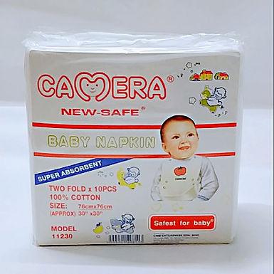 Camera Baby Napkin 10pcs