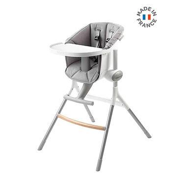 Beaba Up&Down high chair Grey/White (With Grey cushion)