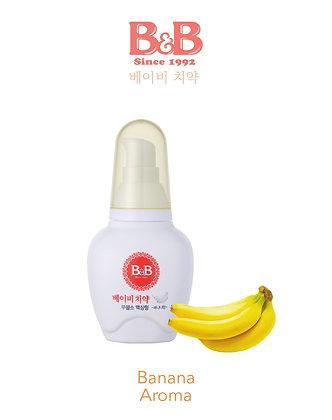 B&B Baby Toothpaste 80g (Liquid Type) - Banana