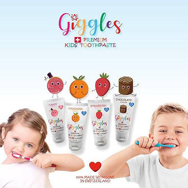 Giggles Premium Kids Toothpaste 50ml - Candy