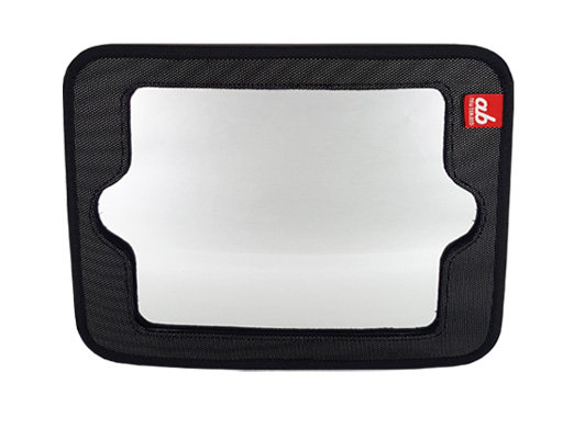 Ab 2-in-1 Baby Car Mirror & Tablet Holder
