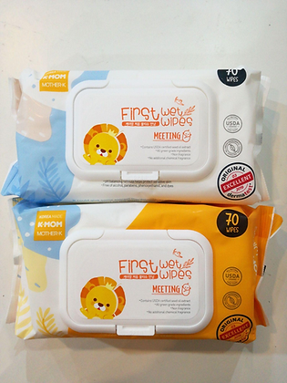 K-Mom First Wet Wipes Meeting (70pcs)