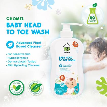 CHOMEL Baby Head to Toe Wash 500ML
