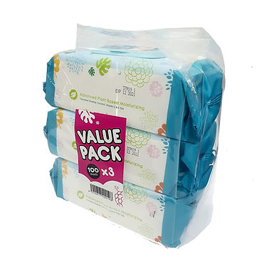 Chomel Baby Wipes (100 sheets)