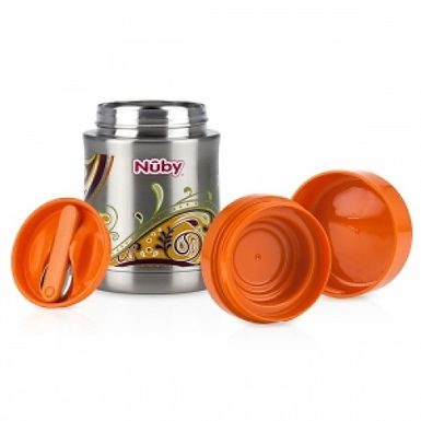 Nuby Stainless Steel Vacuum Insulated Food Jar