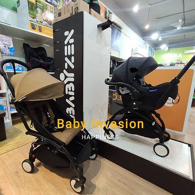 (FREE LEG REST) BABYZEN YOYO² 6+ i-Snug Travel System Black Frame