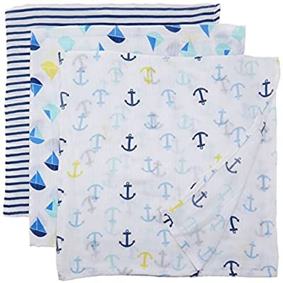 Ideal Baby Muslin Swaddle