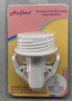 Halford Breastmilk Storage Bag Adapter / Clamp