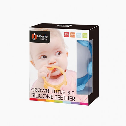 Crown Little Bit Silicone Teether