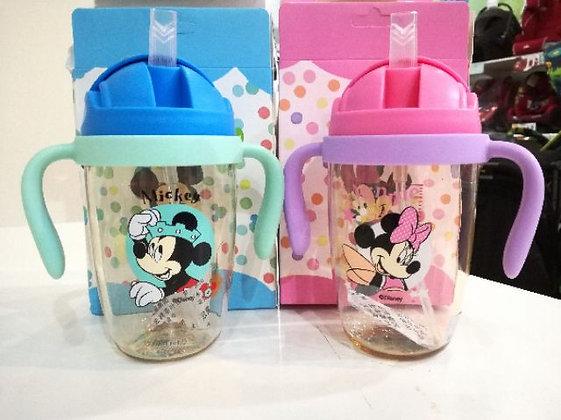 Disney Mickey / Minnie Straw Bottle