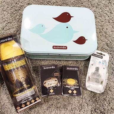 Suavinex Gift Set FREE Metal Box