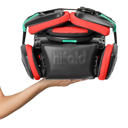 Hifold fit-and-fold booster