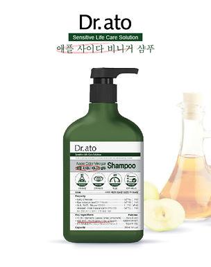Dr.Ato Apple Cider Vinegar – Shampoo 310ml