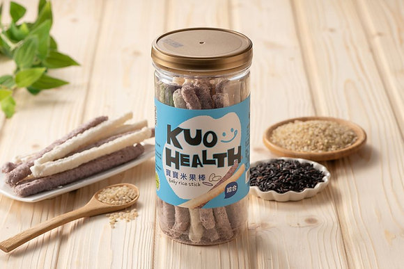 Kuo Health Baby Rice Cracker (Mix Flavour)