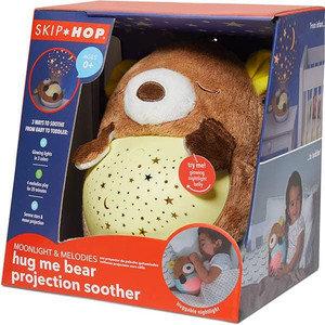 Skip Hop Hug Me Bear Projection Soother