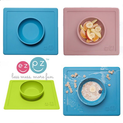 Ezpz The Happy Bowl (placemat + bowl in one)