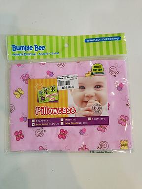 "Bumble Bee Pillowcase(Knit Cotton)- Bean Sprout (13.5""x 5.5"")"