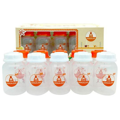Kangalove Breastmilk Storage Bottles 2oz/5oz x 10pcs