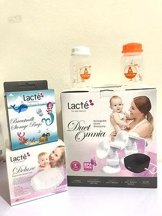 Lacte Omnia Double Electric Breast Pump