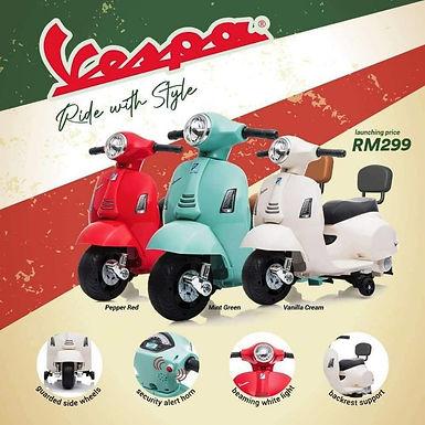 Koopers Mini Vespa Electric Ride-On