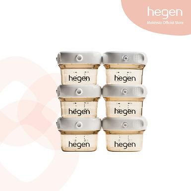 Hegen PCTO 60ml/2oz Breast Milk Storage PPSU (6-Pack)